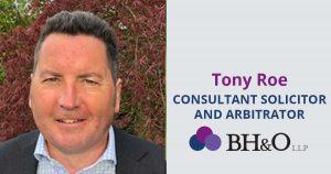 Tony Roe from BHO Legal